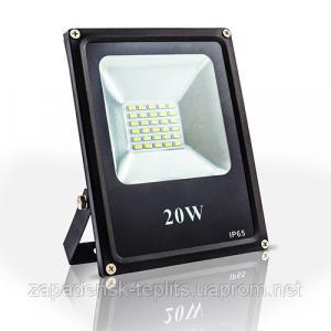 Світлодіодний прожектор 20Вт LED SMD 6000К 1810Лм, IP66