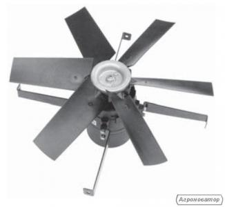 Вентилятор шахтный, каминный Deltafan 630/K/8-8/40/230