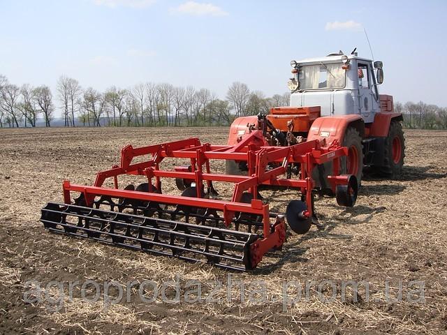 Стерневой культиватор КЛД-3  к тракторам Т-150, Т-150К, ХТЗ-120.