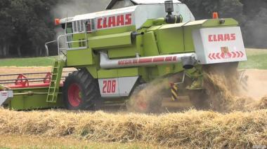 Надаємо послуги по збирання врожаю зернових