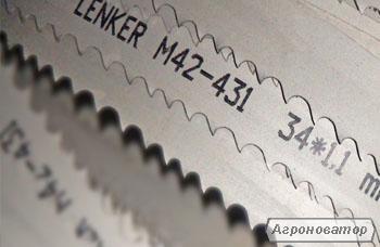Ленточные пилы по металлу М42, М51. Ленточные ножи для текстиля