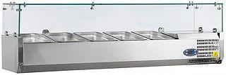 Витрина холодильная TEFCOLD VK38-120 (настольная)
