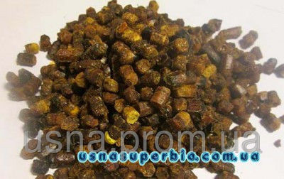 Перга пчелиная в гранулах (пчелиный хлеб, ручная сборка), 100г
