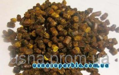 Перга бджолина в гранулах (бджолиний хліб, ручна збірка), 100г