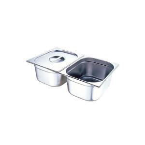 Поддон GASTRORAG 12065 GN 1/2-65 мм, емкость 4 л, нерж.сталь
