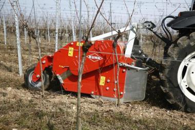 Подрібнювач виноградної лози TRP 175 RH.