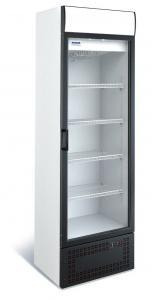 Середньотемпературну ШХ 370 СК (стекл.двері,канапе)