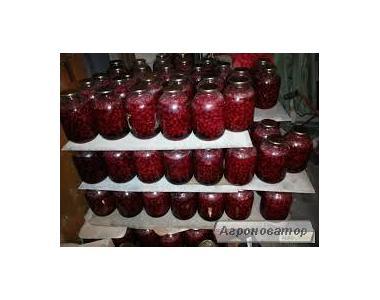 Консервированные вишни в собственном соку, без косточки!!!