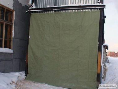 Пром шторы из брезента