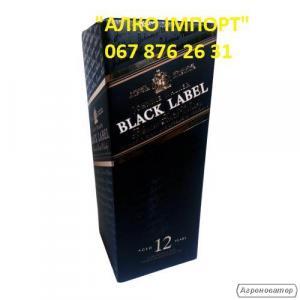 Виски Johnnie Walker Black Label 12, 2 L, 40 об. (опт, розница, дроп)