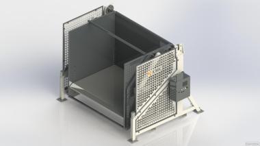 Опрокидыватели контейнерів WS 1612 (КМК)