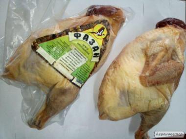 М'ясо фазана (тушка у вакуумі), свіжоморожена, вага 0,8-1,2 кг