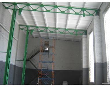 Монтаж металоконструкцій, будівель, споруд, ангарів, БМЗ, резервуар