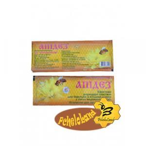 Апідез (тимол, ялицеве масло) 10 смужок в 1 уп. Агробіопром.