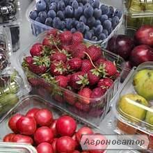 Упаковка для ягод, овощей, фруктов 125, 250, 300, 500, 750, 1000 гр