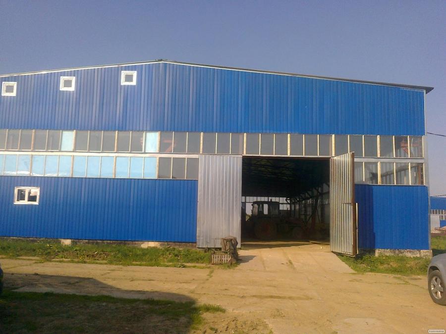 Швидкомонтовані будівлі, ангари, склади, сооружени
