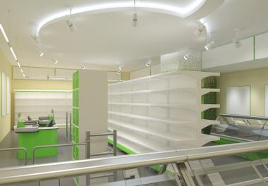 Магазин у дома под ключ! прилавочный магазин самообслуживания. Проект БЕСПЛАТНО