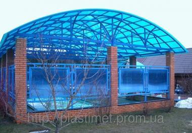 Поликарбонат сотовый (сотовый) Carboglass цвет 6000х2100х25 мм