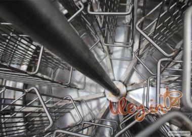 8-ми рамочная нержавеющая «ЕВРО» Медогонка, автоматическая полуповорот