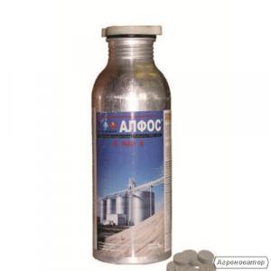 Инсектицид-фумигант Алфос (аналог Фосфин),  д.в. фосфид алюминия 560 г