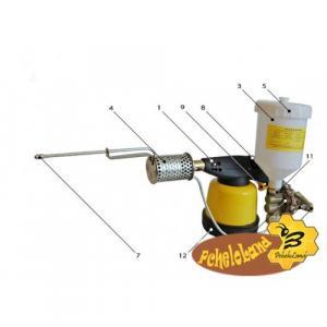 Дым пушка ВАРОА-МОР устройство для окуривания пчел при Варроатозе.