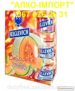 Горілка Keglevich melone, 2 L, 40 об. (роздріб, опт, dropshipping)