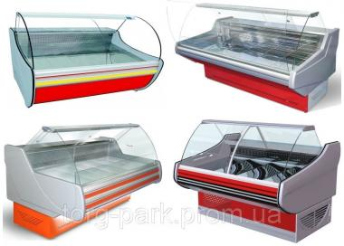 Холодильные витрины - выносной холод / агрегат. Линии витрин под выносное холодоснабжение