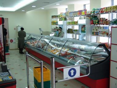 Холодильні вітрини - виносний холод / агрегат. Лінії вітрин під виносне холодопостачання