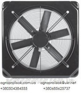 Стінові осьові вентилятори Deltafan