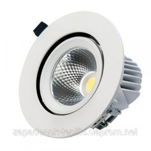 Вбудований LED світильник VL-XP07 15W білий 24° для торговий приміщень