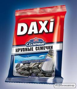 Соленые семечки жареные Дакси