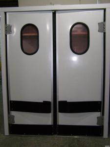 Холодильні маятникові двері