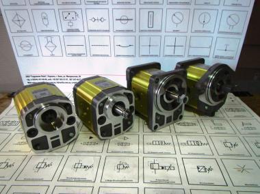 Гідравлічний насос Cassapa, Vivoil, Kayaba, Haldex, Bosch для навантажувачів