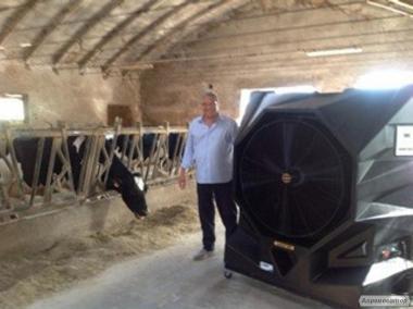 Охладители воздуха  MASTER -охлаждение животноводческих помещений