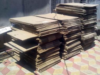Продаю картонные коробки б\у (59х39х20)см.