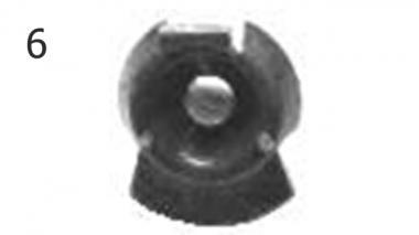 Запчасти для сажалок навесных Unia KORA 2; 4; 4h; 4 hp