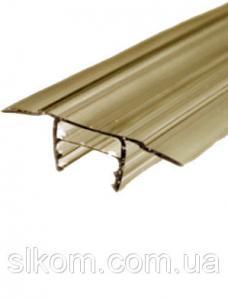 Профиль разъемный БАЗА, цветной, 6-16 мм