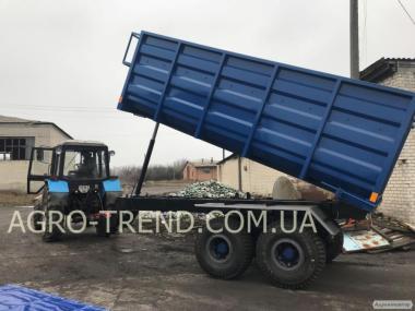Прицеп тракторный самосвальный  2ПТС-4, 2ПТС-6, НТС-10, НТС-16, НТС-20