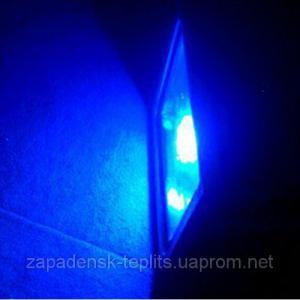 Светодиодный прожектор LED 30Вт 450-460nm (синий), IP66