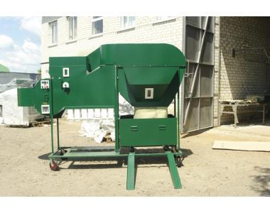 Сепаратор з аспірацією ІСМ-10 ЦОК для очищення та калібрування зерна