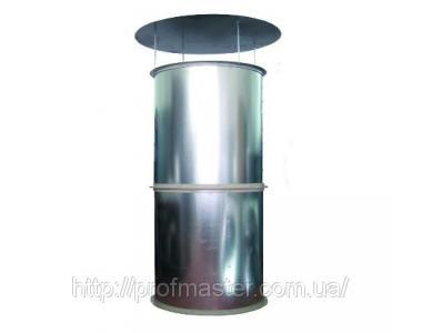 Вентиляційна вежа припливна, витяжна, для пташників, корівників і т. д