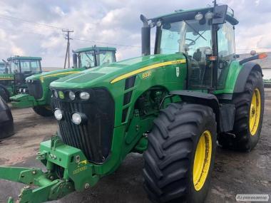 трактор  John Deere 8330, 2007 г.в.  330л.с. нар 6490м.ч. ,