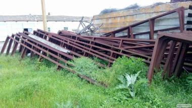Ферми кроквяні металеві 14 м.