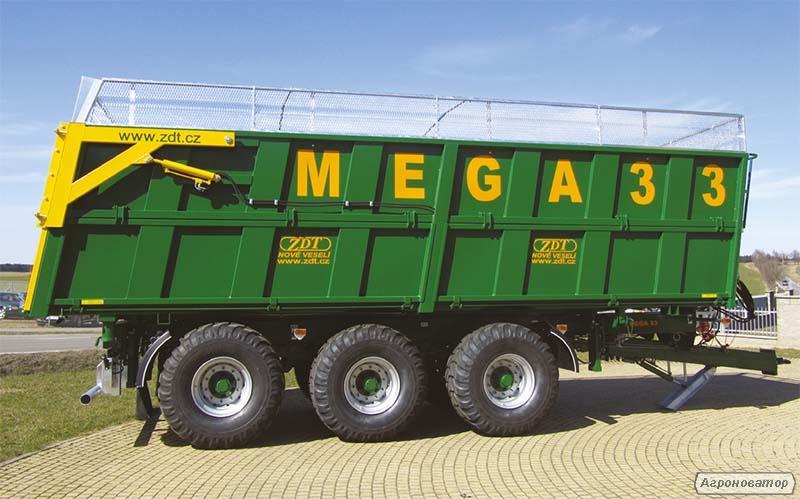 Кузов с выгрузкой в три стороны Mega 33 (ZDT)