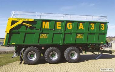 Кузов з вивантаженням в три сторони Mega 33 (ZDT)