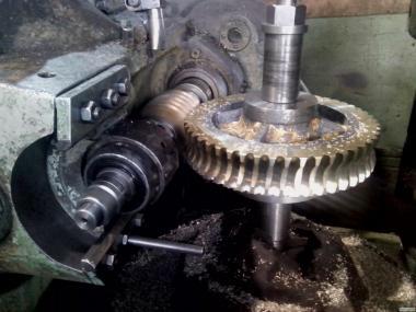 Металлообработка крупных деталей на токарных станках