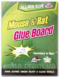 Клеевая ловушка от крыс и мышей размер 42*32 (зеленая)