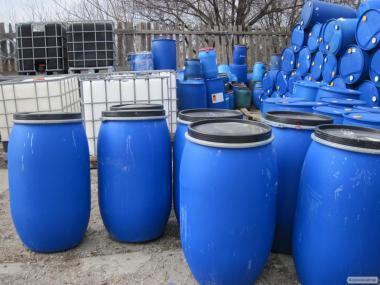 Бочки 200л пластикові, металеві в наявності. Евротара-Харків