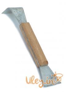 Стамеска пасічна з дерев'яною ручкою, Нержавіюча