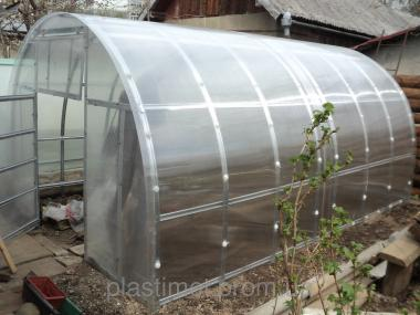 Каркас арочной теплицы под поликарбонат